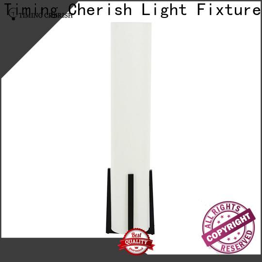 Timing Cherish wood corner floor lamp suppliers for home