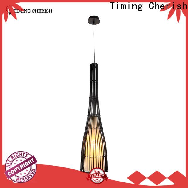 Timing Cherish weaving cotton pendulum lights for business for shop