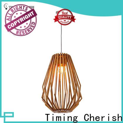 Timing Cherish grey timber pendant light for sale for bar