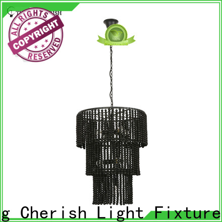 natural beaded pendant light white manufacturers for shop