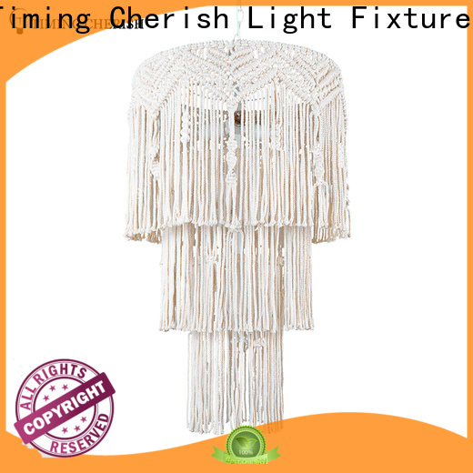 Timing Cherish washnatural hanging chandelier for business for home