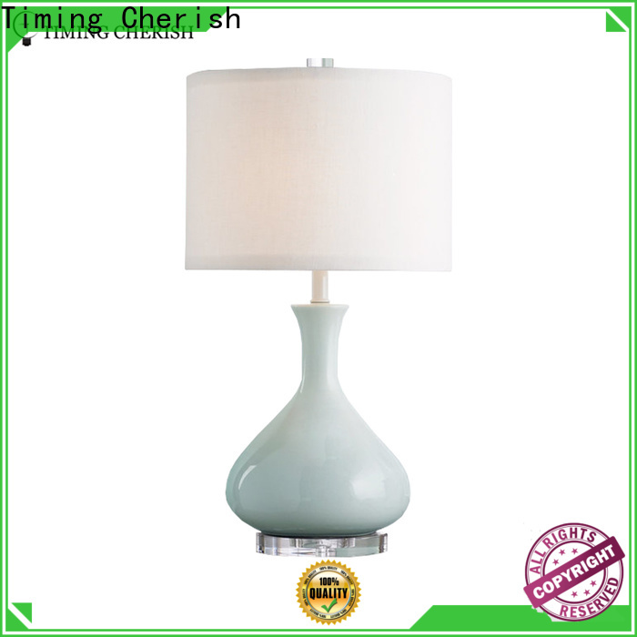 Timing Cherish linen table light factory for bar
