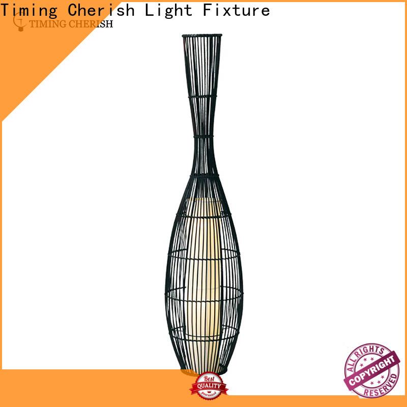 Timing Cherish tan metal floor lamp for sale for home