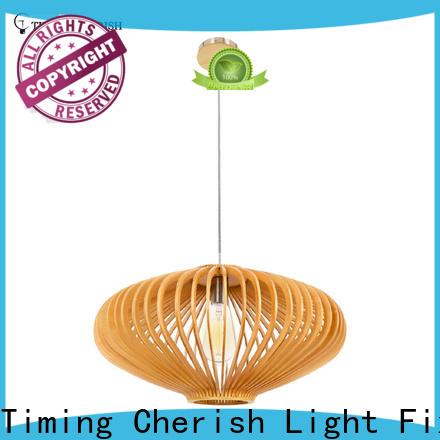 Timing Cherish weaving cotton pendant light fixtures company for bar