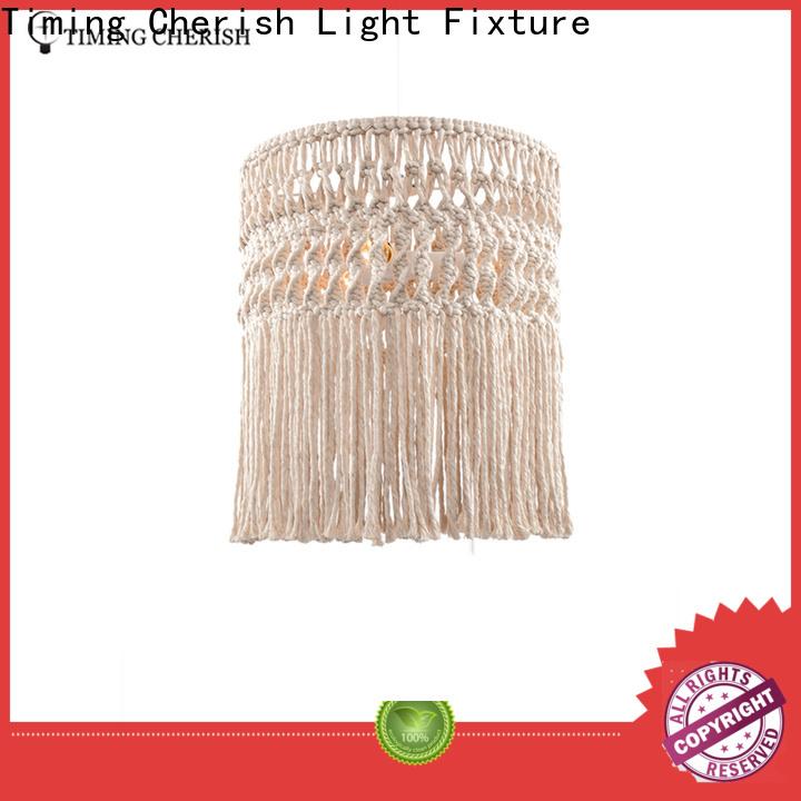 Timing Cherish boho pendant light fixtures manufacturers for living room