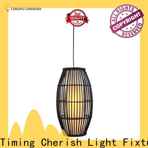 Timing Cherish rattan hanging pendant lights company for shop