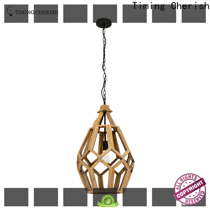 Timing Cherish bead hanging pendant lights suppliers for home