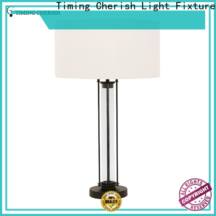 Timing Cherish modern touch table lamp suppliers for hotel