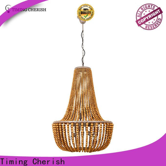 Timing Cherish blackfrench beaded pendant light supply for living room