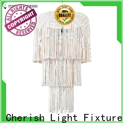 Timing Cherish pendant hanging chandelier factory for hotel