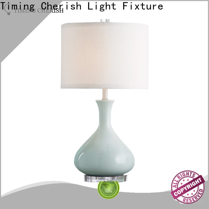 Timing Cherish nickel chandelier table lamp for business for hotel