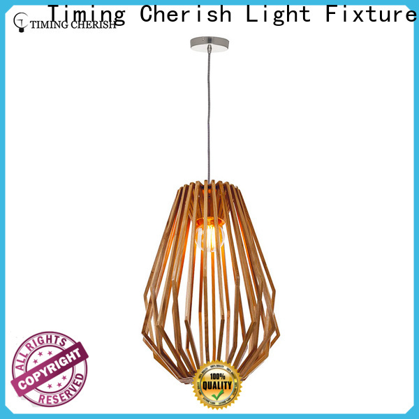 Timing Cherish fenske wood pendant light suppliers for bar