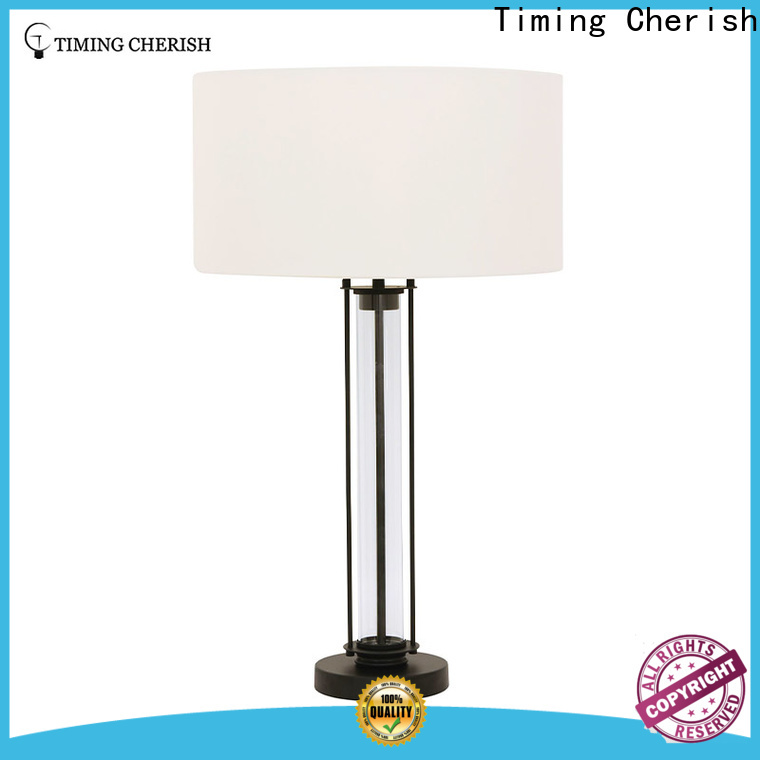Timing Cherish rhine touch table lamp factory for living room