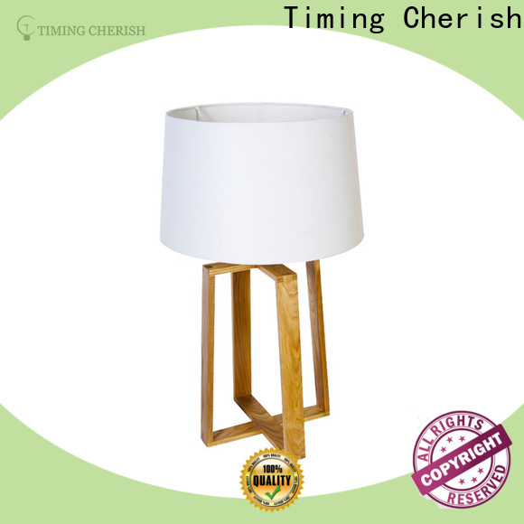 natural touch table lamp 2tier supply for hotel