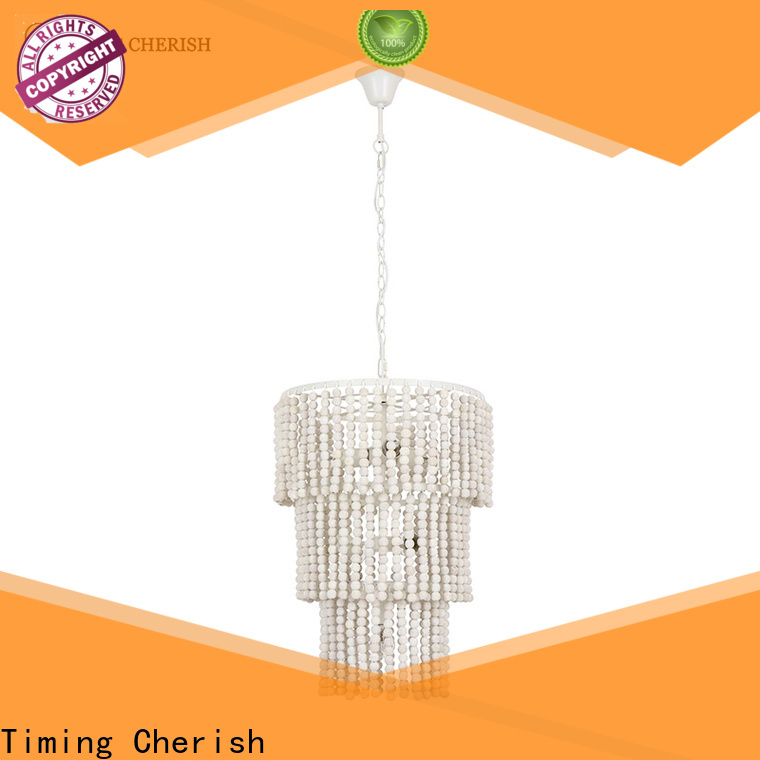 Timing Cherish block fringe chandelier supply for shop
