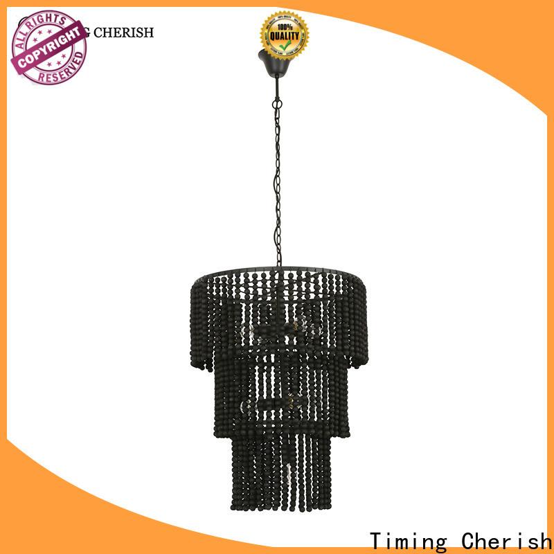 Timing Cherish baikal beaded pendant light for business for living room