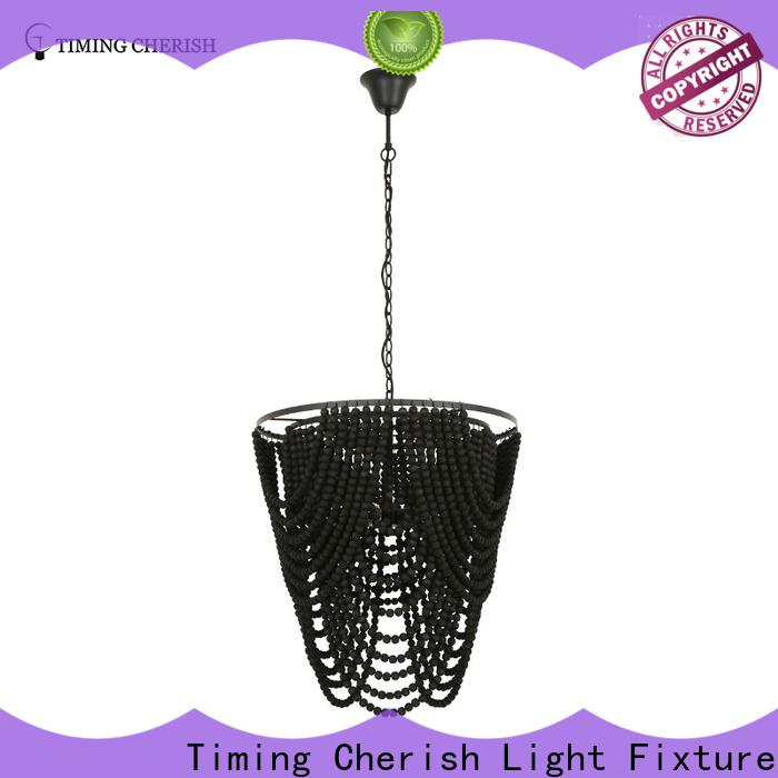 Timing Cherish grey hanging chandelier supply for hotel