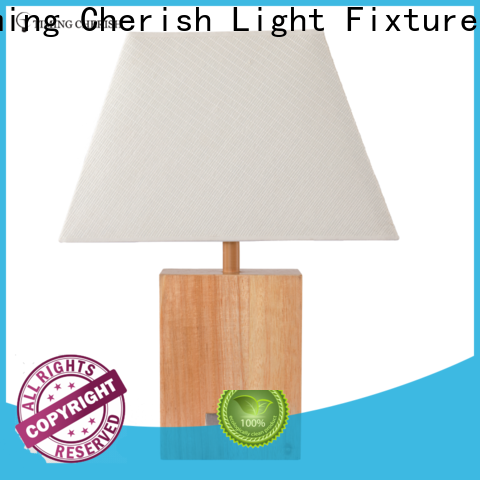 classic wood table lamp white factory for kitchen