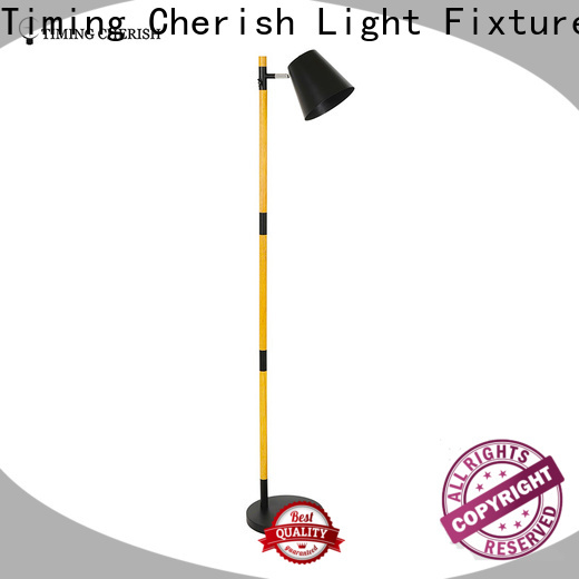 Timing Cherish adjustable rattan floor lamp suppliers for home