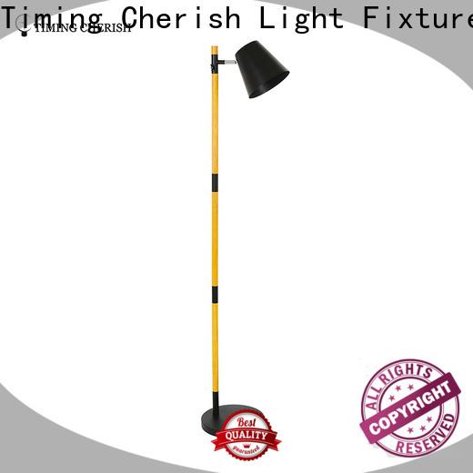 Timing Cherish adjustable rattan floor lamp suppliers for home