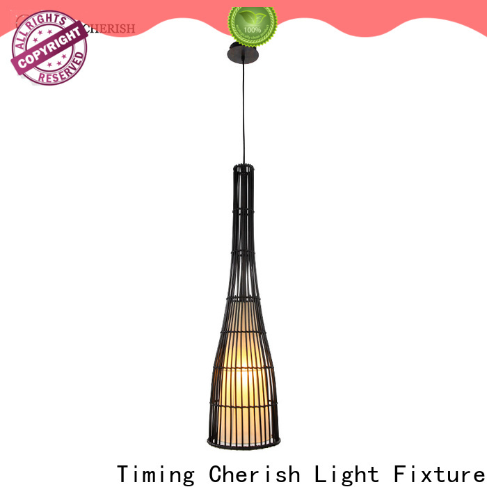 Timing Cherish french wood pendant light suppliers for shop