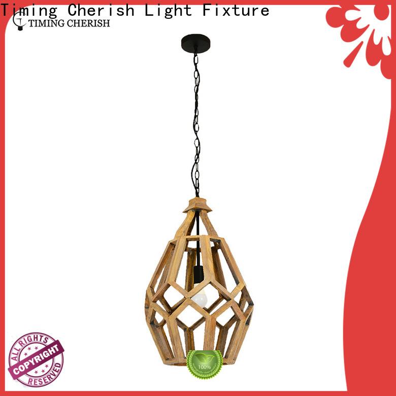 crafted wood pendant light fenske manufacturers for living room