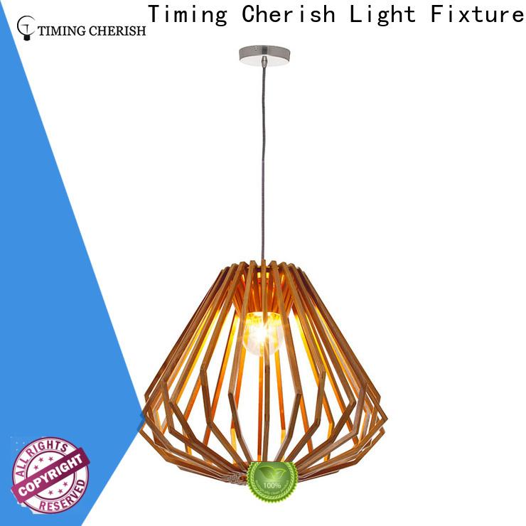 small timber pendant light rattan company for bar