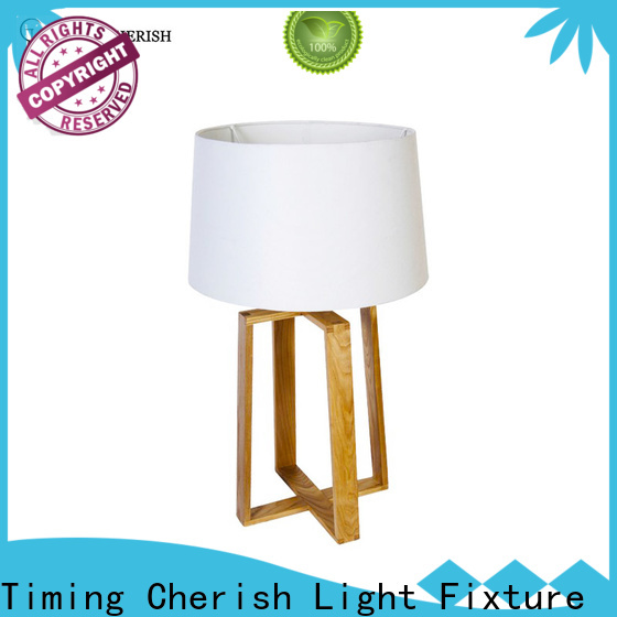 Timing Cherish wicker end table lamps suppliers for bar