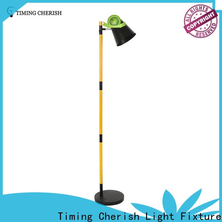 Timing Cherish wicker floor standing lights manufacturers for living room