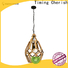 weaving cotton lantern pendant light cord suppliers for living room