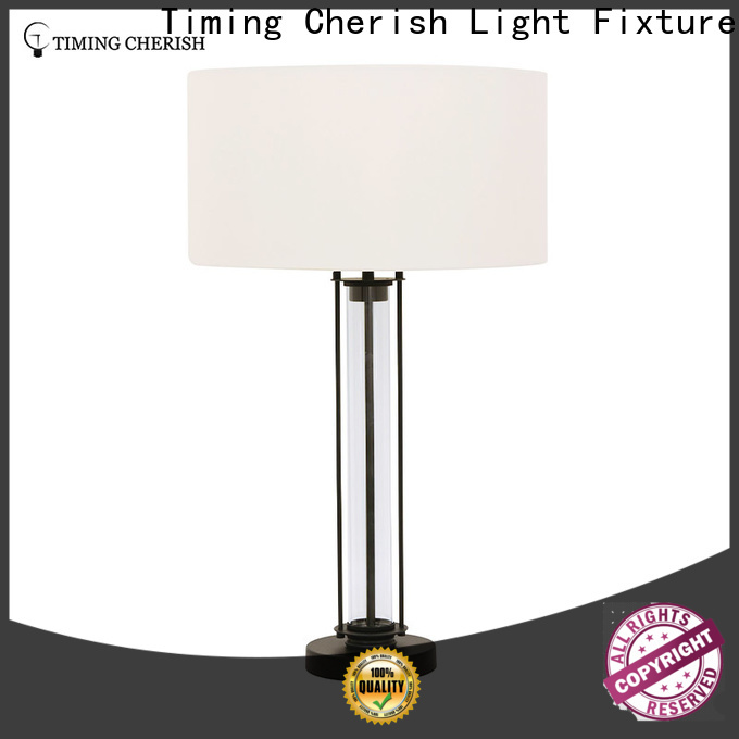Timing Cherish wicker touch table lamp factory for bar