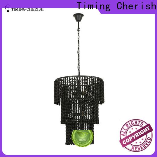 Timing Cherish round fringe chandelier for sale for hotel