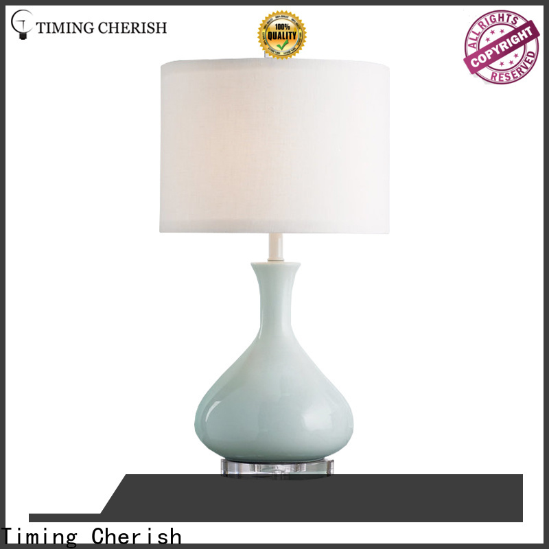 Timing Cherish handmade touch table lamp supply for kitchen