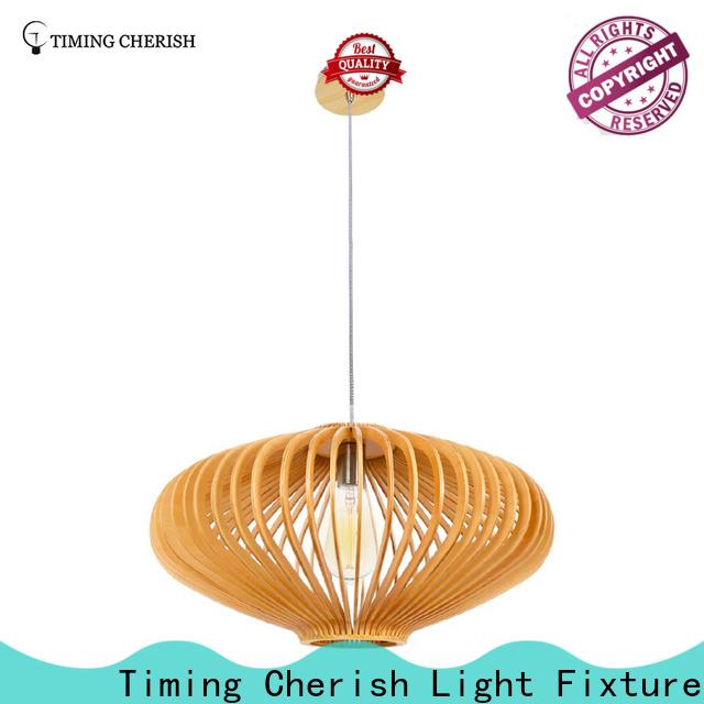 Timing Cherish grey timber pendant light manufacturers for bar