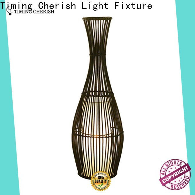 Timing Cherish classic floor standing lights supply for hotel