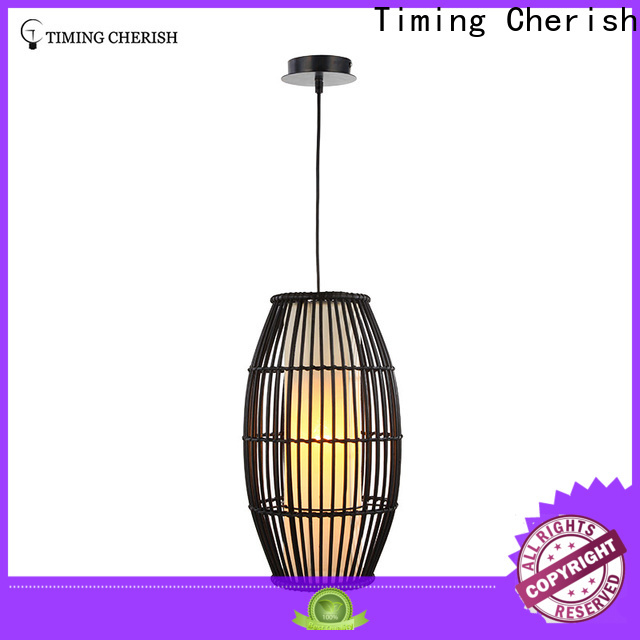 Timing Cherish cord lantern pendant light supply for home