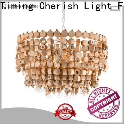 Timing Cherish wash fringe chandelier supply for bar