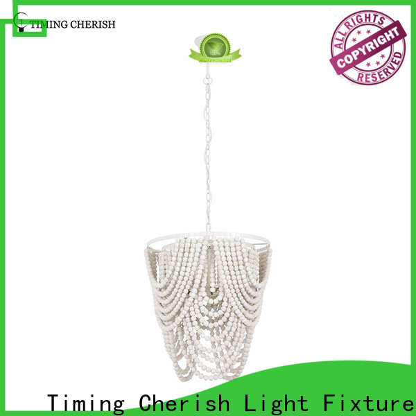 exclusive wood bead chandelier beads supply for bar