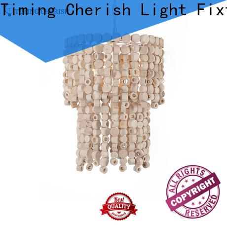 Timing Cherish macramé hanging chandelier supply for bar