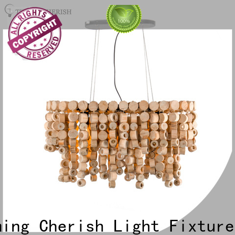Timing Cherish natural beaded pendant light manufacturers for home
