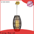 Timing Cherish fringed timber pendant light suppliers for shop