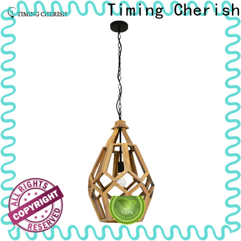 ceiling wood pendant light tall factory for bar