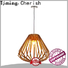 Timing Cherish woven pendant light fixtures manufacturers for home