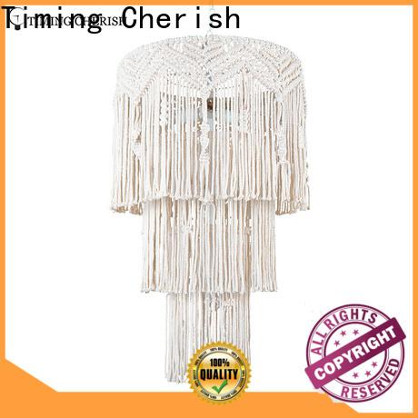 Timing Cherish draped fringe chandelier supply for hotel