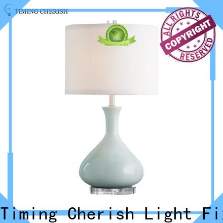 Timing Cherish handmade bedside table lights supply for bar
