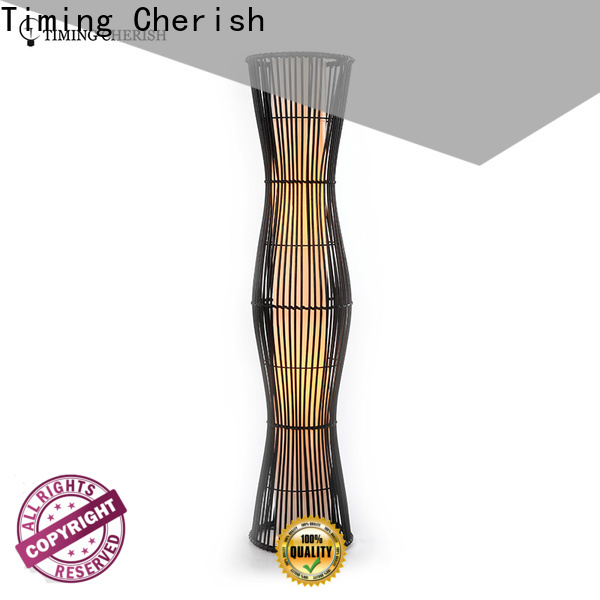 classic wicker floor lamp alps for business for home