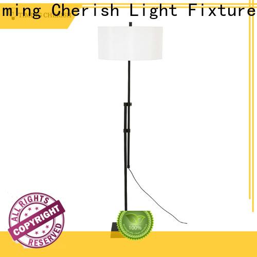 stylish corner floor lamp black supply for hotel
