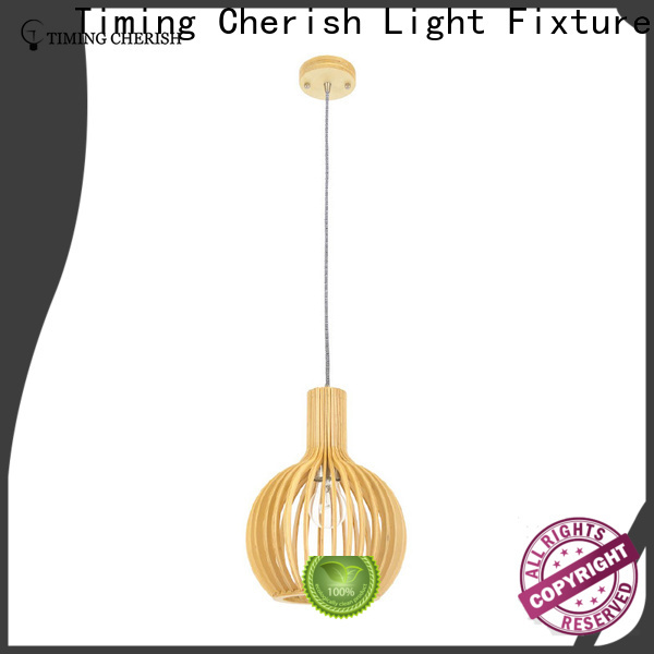 Timing Cherish bead pendulum lights supply for bar