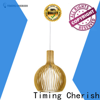 crafted timber pendant light frisbee factory for bar