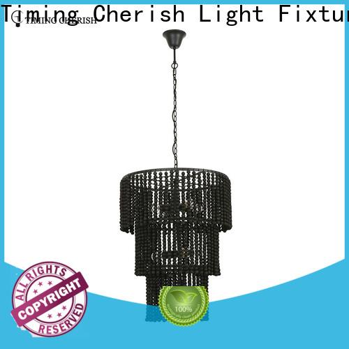 Timing Cherish handmade fringe chandelier for sale for living room